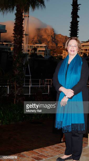 Ann Moore CEO of TIME Inc attends The Most Powerful Women Breakfast at the OneOnly Resort at the TIME/FORTUNE/CNN Global Forum held on June 26 2010...