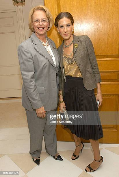 Ann Moore Chairman and CEO of Time Inc and Sarah Jessica Parker