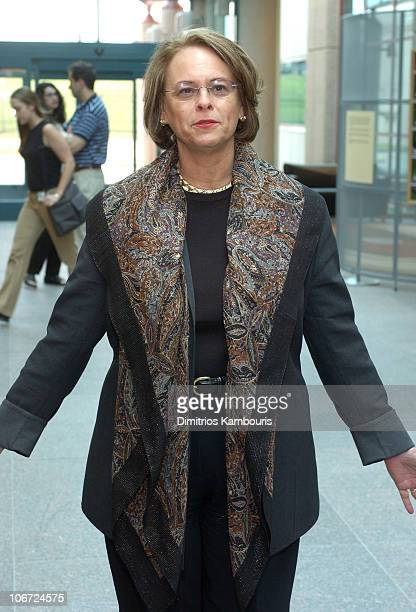 Ann Moore Chairman and CEO of Time Inc during St Jude Childrens Research Hospital Shower of Stars 40th Anniversary Hospital Tour at St Jude...