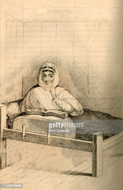 Ann Moore the fasting woman of Tutbury' 1822 Portrait of Ann Moore of Tutbury in Staffordshire who became notorious as 'a fraudulent fasting woman'...