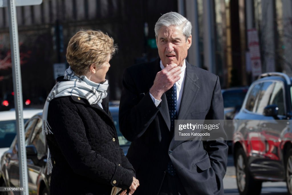 Special Counsel Mueller's Trump-Russia Probe Report Reviewed By Attorney General William Barr : News Photo
