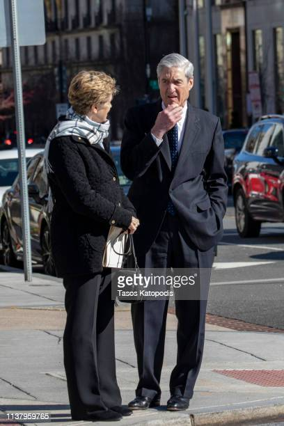 Ann Mueller and Special CounselRobert Mueller walk on March 24 2019 in Washington DC Special counsel Robert Mueller has delivered his report on...