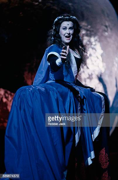 Ann Murray performs in a Royal Opera production of Mozart's 'Mitridate, Re Di Ponto'.