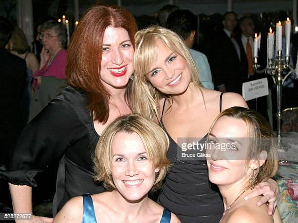 Ann Nathan, Erin Dilly, Kristin Chenoweth and Julia Murney