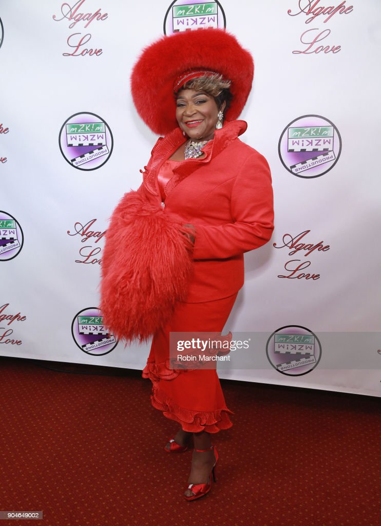 Ann Nesby attends Agape Love Red Carpet on January 13, 2018 in Milwaukee, Wisconsin.