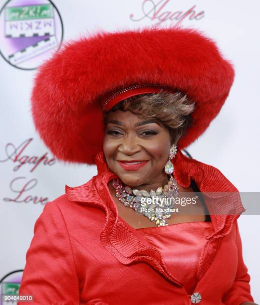 Ann Nesby attends Agape Love Red Carpet on January 13 2018 in Milwaukee Wisconsin