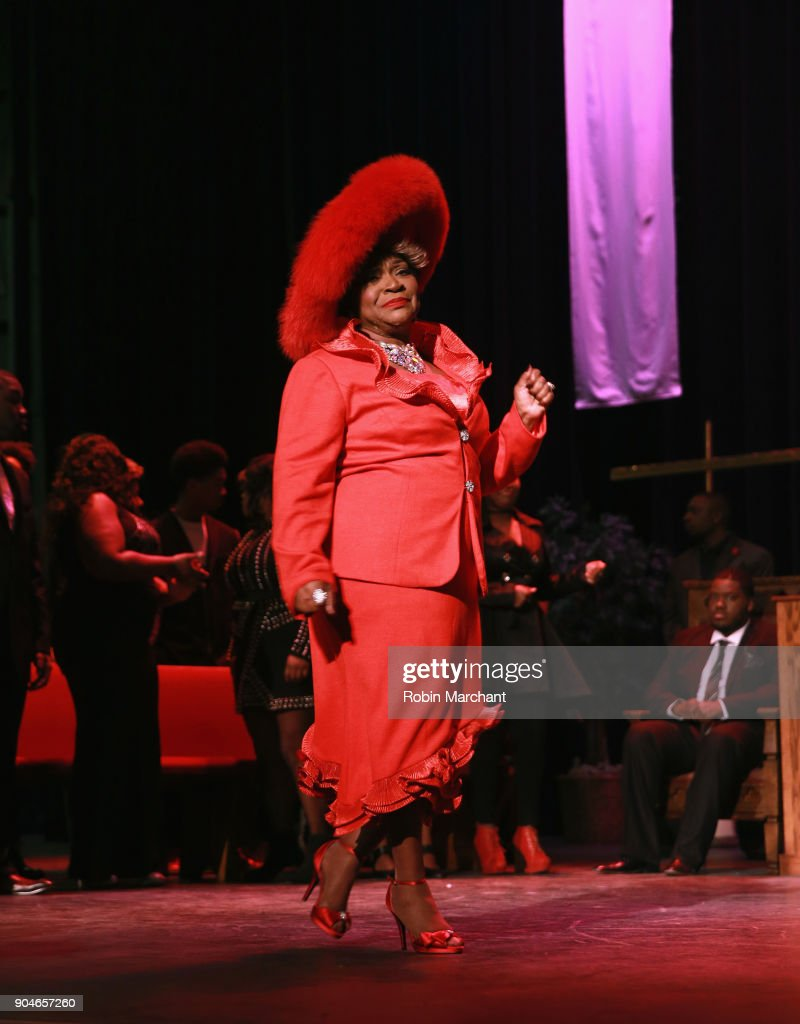 Ann Nesby rehearses Agape Love Musical Stage Play on January 13, 2018 in Milwaukee, Wisconsin.