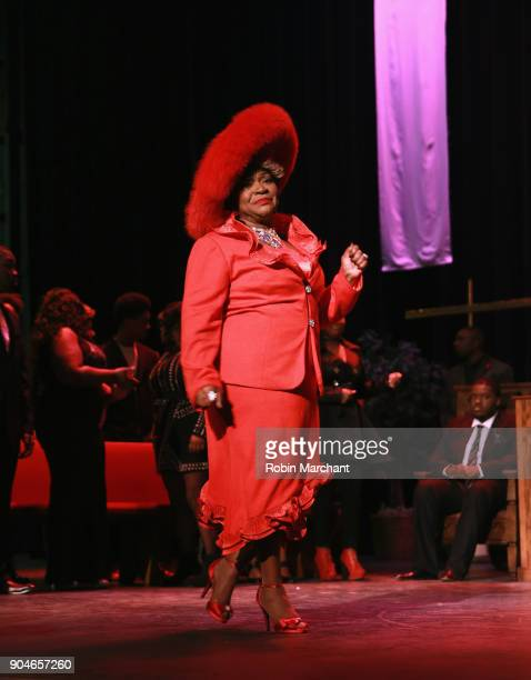 Ann Nesby rehearses Agape Love Musical Stage Play on January 13 2018 in Milwaukee Wisconsin