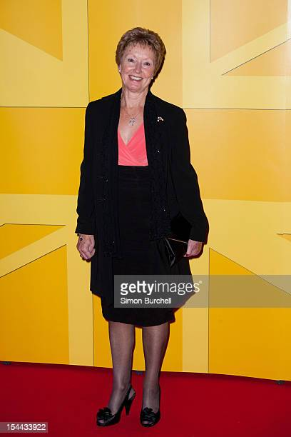 Ann Packer arrives for the UK Athletics Gala Dinner at Royal Courts of Justice Strand on October 19 2012 in London England