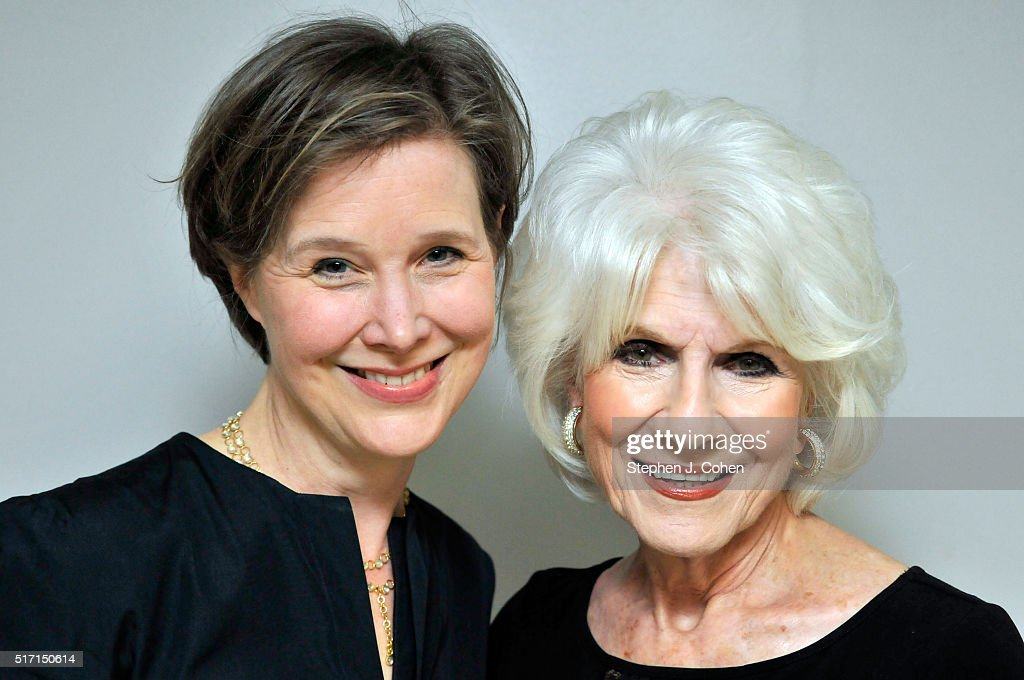 Ann Patchett and Diane Rehm pose backstage at The Kentucky Center for the Performing Arts on March 23, 2016 in Louisville, Kentucky.
