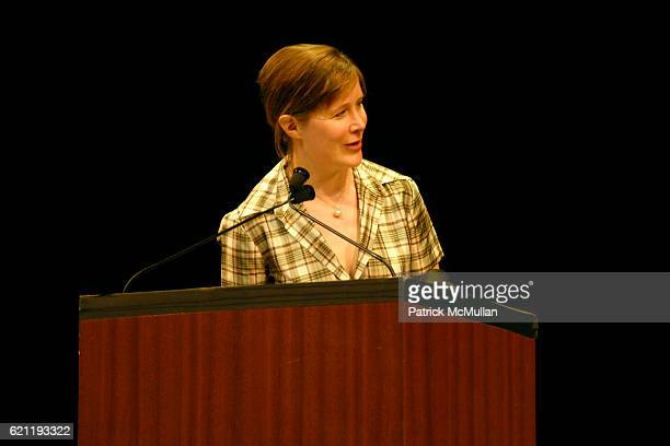 Ann Patchett attends Literacy Partners Hosts Annual Gala 'An Evening of Readings' Honoring David and Julia Koch at Lincoln Center on May 12 2008 in...