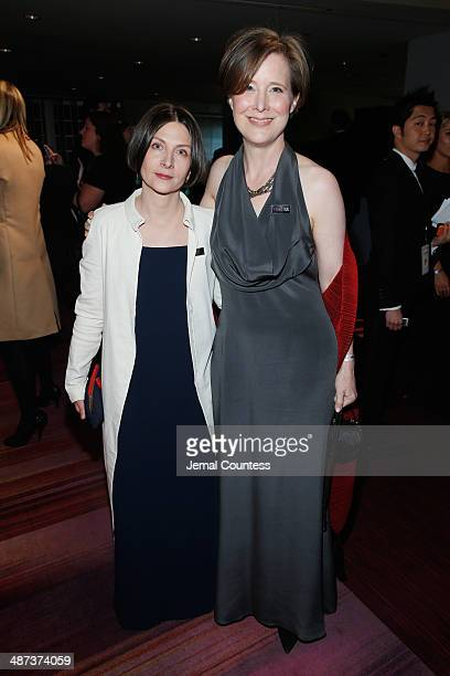 Ann Patchett attends the TIME 100 Gala TIME's 100 most influential people in the world at Jazz at Lincoln Center on April 29 2014 in New York City