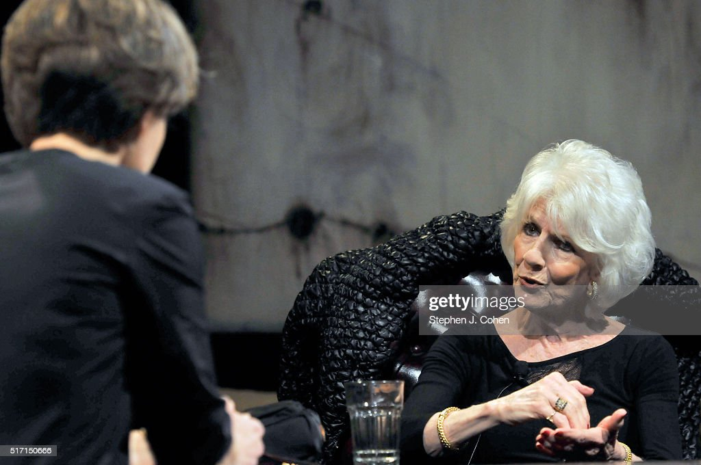 Ann Patchett interviews Diane Rehm at The Kentucky Center for the Performing Arts on March 23, 2016 in Louisville, Kentucky.