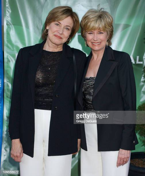 Ann Pauley and Jane Pauley during 2004 NBC All Star Party Arrivals at Universal Studios in Universal City California United States