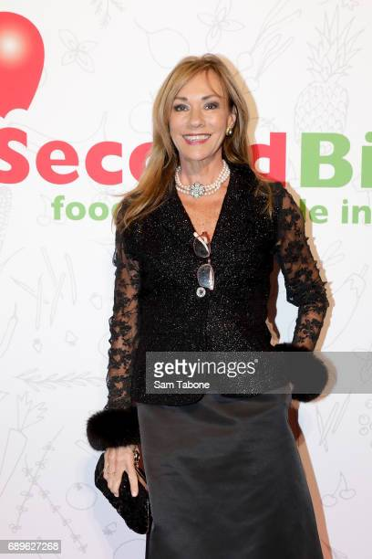 Ann Peacock arrives ahead of the SecondBite Waste Not Want Not Charity Dinner at Crown Palladium on May 29 2017 in Melbourne Australia