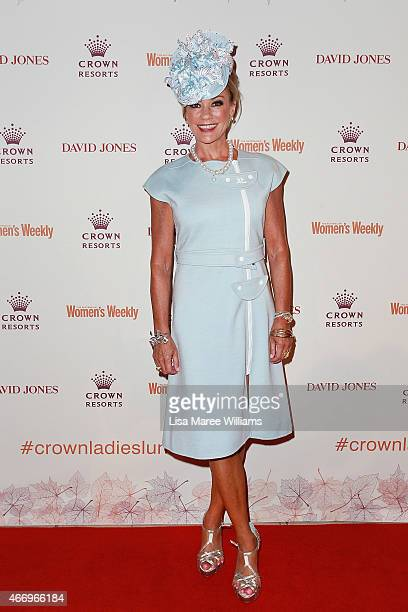 Ann Peacock arrives at the Crown's Autumn Ladies Lunch at David Jones Elizabeth Street Store on March 20 2015 in Sydney Australia