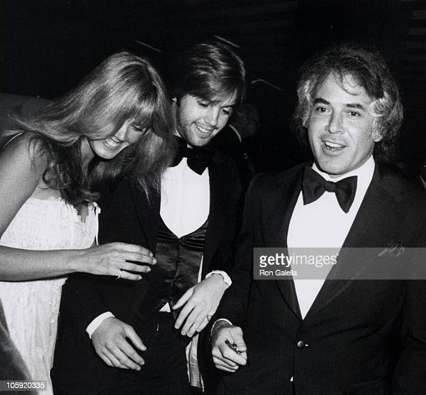 Ann Pennington Shaun Cassidy and guest during National Leukemia Broadcast Council Honors Shirley Jones at Beverly Hills Hotel in Beverly Hills...