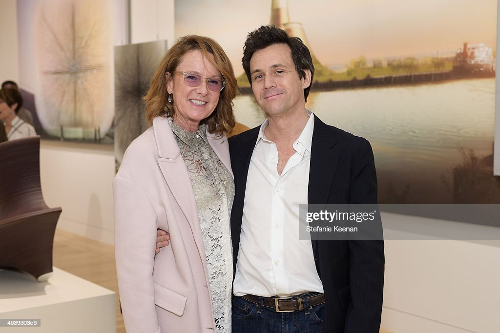 Ann Philbin and Nicolai Ouroussoff attend Hammer Museum's Provocations Presented In Partnership With Burberry - Members' Opening on February 19, 2015 in Los Angeles, California.
