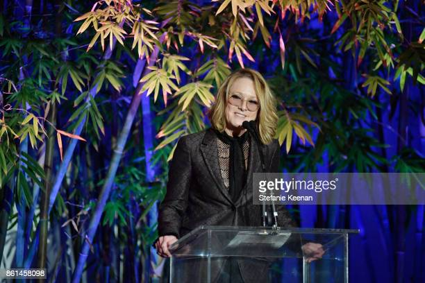Ann Philbin at the Hammer Museum 15th Annual Gala in the Garden with Generous Support from Bottega Veneta on October 14 2017 in Los Angeles California