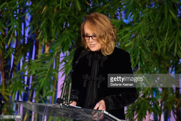 Ann Philbin attends the Hammer Museum 16th Annual Gala in the Garden with generous support from South Coast Plaza at the Hammer Museum on October 14...
