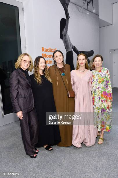 Ann Philbin Jenni Kayne Maggie Kayne Saree Kayne and Suzanne Kayne at the Hammer Museum 15th Annual Gala in the Garden with Generous Support from...