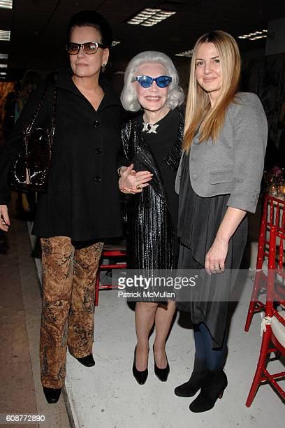 Ann Rapp Anne Slater and Kelly Sugarman attend JULIANNE MOORE and REED KRAKOFF Dinner in Honor of HUNT SLONEM and His New Book PLEASURE PALACES...