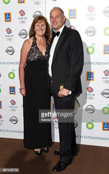 Ann Redgrave and Sir Steve Redgrave attend the Team GB Olympic Ball at The Royal Opera House on September 9 2015 in London England