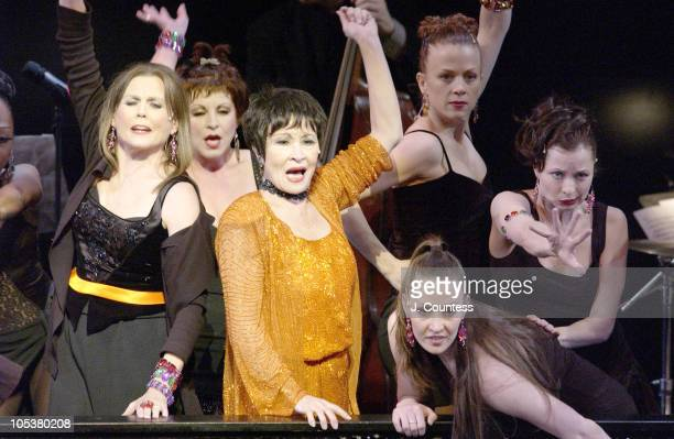 Ann Reinking and Chita Rivera during ASCAP Celebrates the Life and Works of Cy Coleman at Majestic Theatre in New York City New York United States
