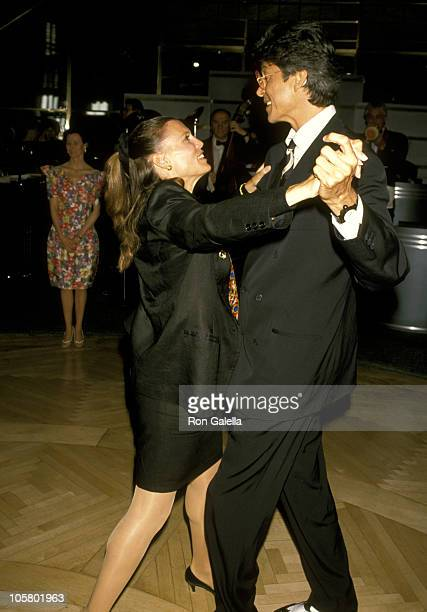 Ann Reinking and Tommy Tune during Gala Celebration Kicking Off Ballroom Week May 31 1990 at Rainbow Room at Rockefeller Plaza in New York City New...