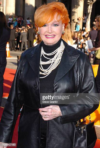 Ann Robinson during War of the Worlds Los Angeles Fan Screening Arrivals in Los Angeles California United States