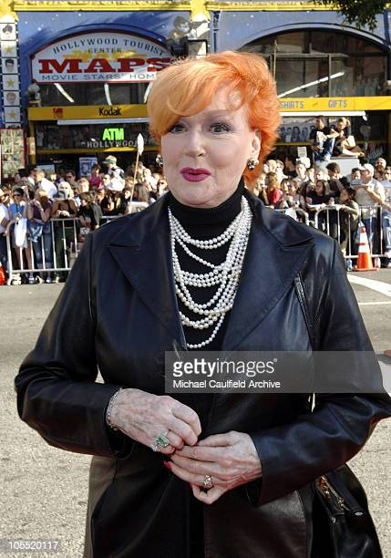 Ann Robinson during War of the Worlds Los Angeles Fan Screening Red Carpet at Grauman's Chinese Theatre in Hollywood California United States