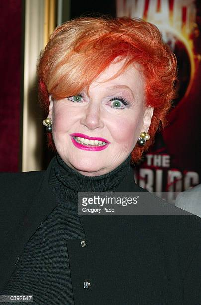 Ann Robinson during 'War of the Worlds' New York City Premiere Inside Arrivals at Ziegfeld Theater in New York City New York United States