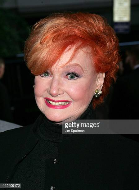 Ann Robinson during War of the Worlds New York City Premiere Outside Arrivals at Ziegfeld Theatre in New York City New York United States