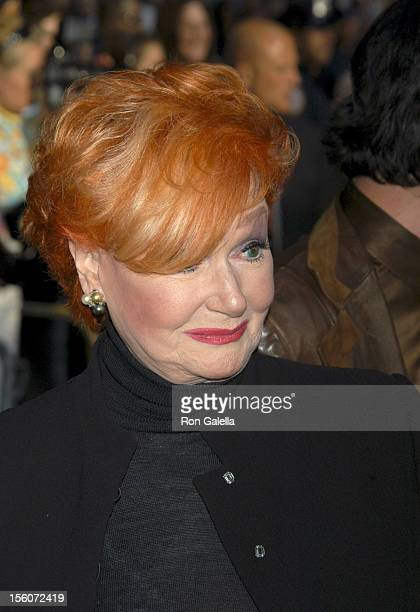 Ann Robinson during 'War of the Worlds' New York City Premiere Outside Arrivals at Ziegfeld Theatre in New York City New York United States