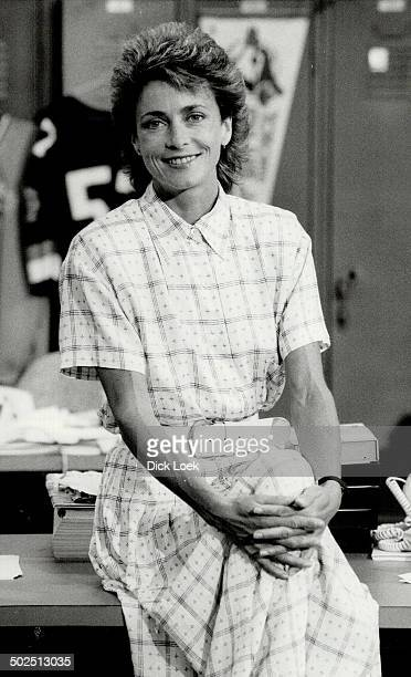 Ann Rohmer The athletic sports anchor for CITY TV who is 5 feet 4 inches and weighs 113 pounds teaches fitness classes six days a week
