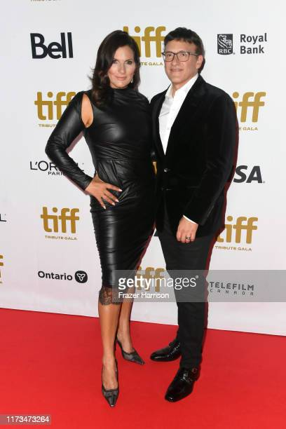 Ann Russo and Anthony Russo attend the 2019 Toronto International Film Festival TIFF Tribute Gala at The Fairmont Royal York Hotel on September 09...