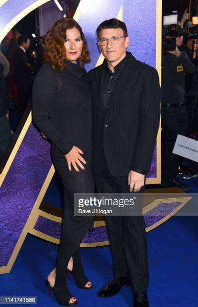 Ann Russo and Anthony Russo attend the 'Avengers Endgame' UK Fan Event at Picturehouse Central on April 10 2019 in London England