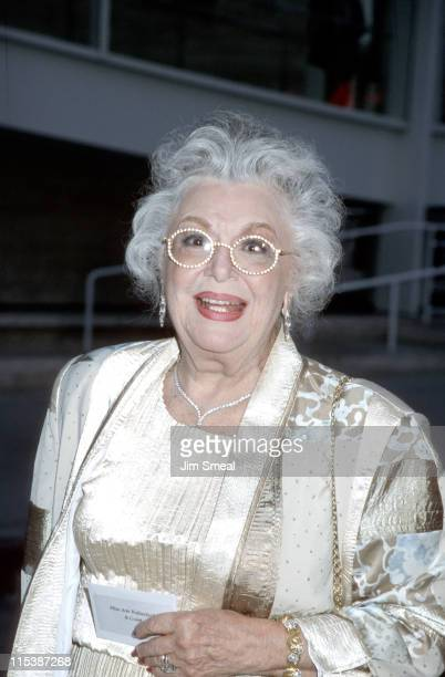 Ann Rutherford during Museum of Television Radio's 5th Annual Gala at Museum of Television Radio in Beverly Hills California United States