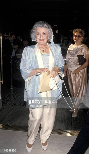Ann Rutherford during Senator George Murphy's 65th Birthday Celebration at Regent Beverly Wilshire in Beverly Hills California United States