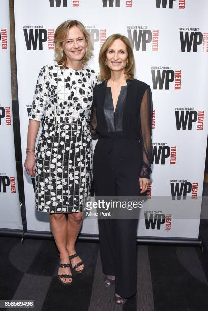 Ann Sarnoff and Kate Lear attend the 32nd Annual WP Theater's Women of Achievement Awards Gala at The Edison Ballroom on March 27 2017 in New York...