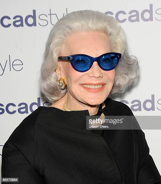 Ann Slater attend the SCAD Style Etoile awards gala at the James Cohan Gallery on March 23 2009 in New York City