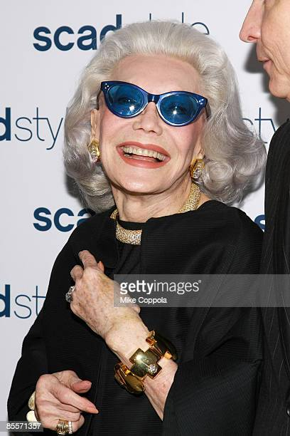 Ann Slater attends the Savannah College of Art and Design's annual Style Etoile Awards Gala at James Cohan Gallery on March 23 2009 in New York City
