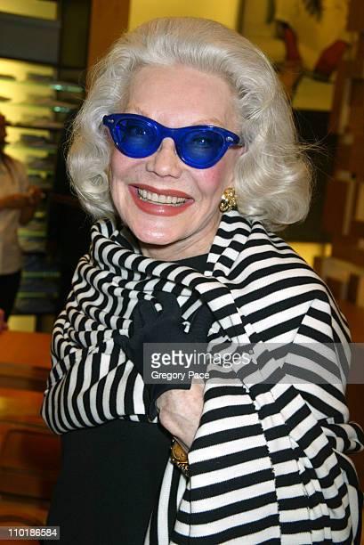 Ann Slater during Ermenegildo Zegna Flagship Store Opening in New York City at Ermenegildo Zegna 663 5th Avenue in New York City New York United...