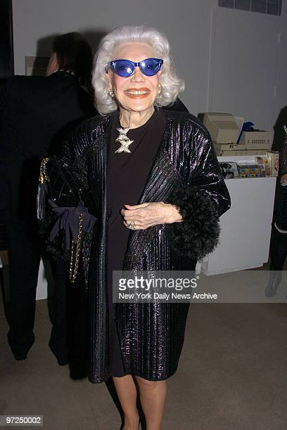 Ann Slater is at the Metropolitan Museum for the opening of The Costume Institute's exhibition Nan Kempner American Chic celebrating the couture of...
