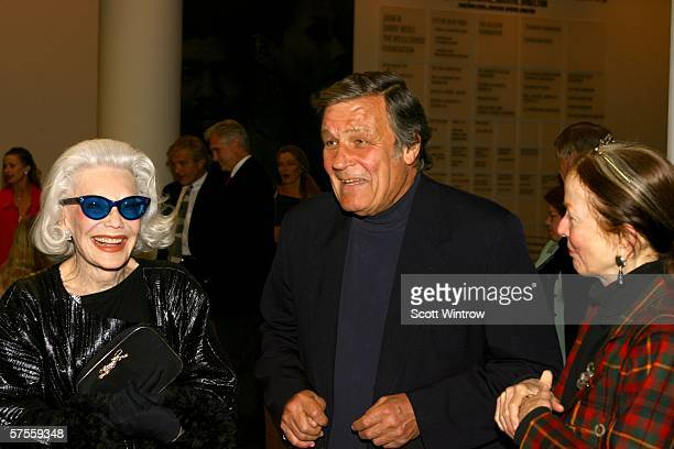 Ann Slater Peter Duchin and Brook Haywood arrive at the Bringing Balanchine Back gala screening hosted by Peter Martins at the Joan Weill Center For...