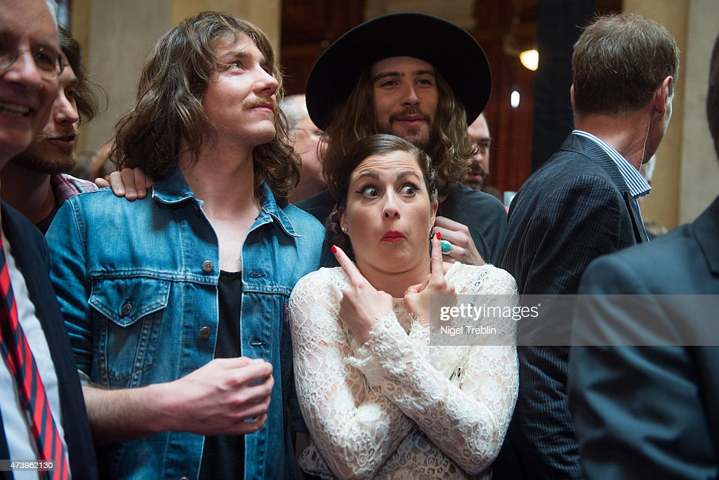 Eurovision Song Contest 2015 - German Embassy Reception : News Photo