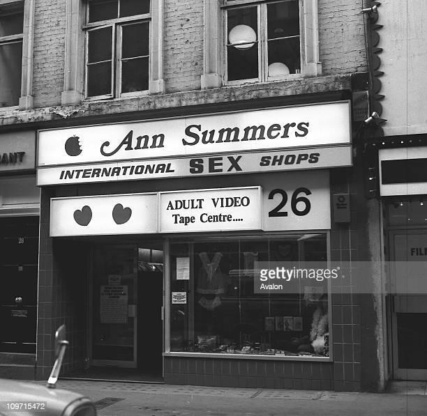 Ann Summers Sex Shop Berwick Street London W1 The centre of London's Soho
