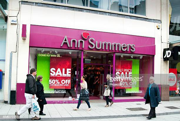 Ann Summers store with sale signs in Cardiff, Wales