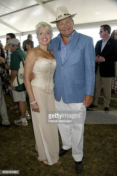 Ann Thomas and Charles Ward attend SYBIL And DAVID YURMAN Host A Luncheon For GRAND PRIX SUNDAY At THE HAMPTONS CLASSIC at Bridgehampton on September...