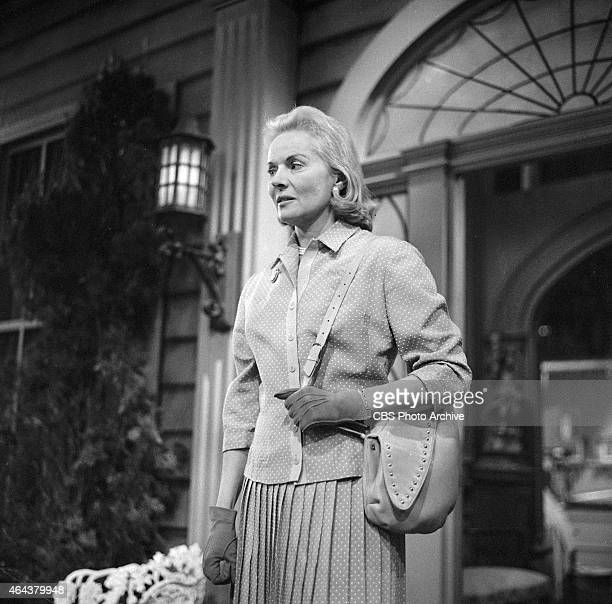 Ann Todd as Jane Palmer in the CLIMAX episode 'Shadow of a Memory' Image dated December 22 1957